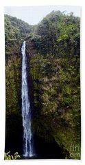 Akaka Falls Beach Towel by Patricia Griffin Brett