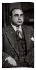 Al Capone - Scarface Beach Towel