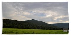 Alabama Mountains 2 Beach Towel by Verana Stark
