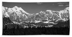 Alaska Range Beach Towel