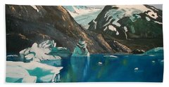 Alaska Reflections Beach Towel