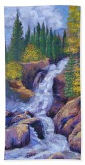 Alberta Falls Beach Towel