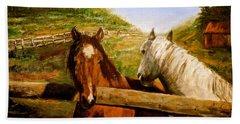 Alberta Horse Farm Beach Sheet
