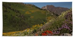 Albion Basin Summer Beach Sheet by Susan Rovira