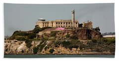 Alcatraz Panorama Beach Towel