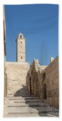 Aleppo Citadel In Syria Beach Towel