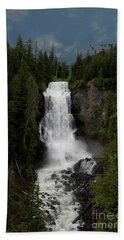 Beach Towel featuring the photograph Alexander Falls by Rod Wiens