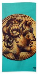 Alexander The Great Beach Towel
