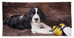 Beach Towel featuring the photograph Alfred by Alana Ranney
