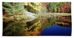 Algonquin Reflection Beach Towel by David Porteus