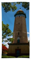 Alhambra Water Tower Of Coral Gables Beach Sheet