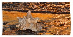 Alight And Aglow Beach Towel