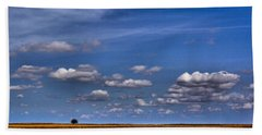 All By Myself Beach Towel by Steven Reed