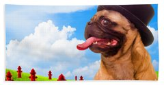 All Dogs Go To Heaven Beach Towel