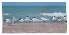 All In A Row Beach Towel by Kim Hojnacki