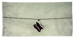 Beach Towel featuring the photograph All Tied Up by Melanie Lankford Photography