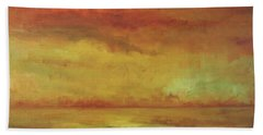 Beach Towel featuring the painting Allegro by Mary Wolf