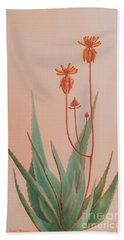 Aloe Family Beach Towel