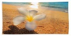 Beach Towel featuring the photograph Aloha Paradise by Kristine Merc