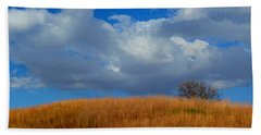 Along Big Bluestem Ridge Beach Towel