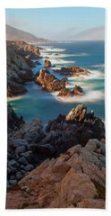 Along The Coastline Beach Towel by Jonathan Nguyen
