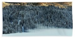 Alpine Forest Beach Sheet