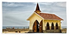 Alto Vista Chapel Aruba Beach Towel by Gary Slawsky