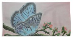 Amandas Blue Dream Beach Towel