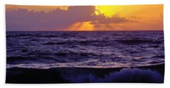 Amazing - Florida - Sunrise Beach Sheet by D Hackett