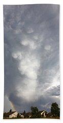 Amazing Storm Clouds Beach Towel