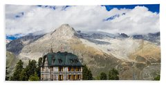 Amazing Villa Cassel In The Swiss Alps Switzerland Beach Towel