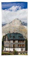 Amazing Villa Cassel In The Swiss Alps Switzerland Beach Sheet