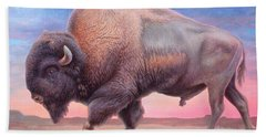 American Buffalo Beach Towel