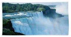 American Falls Niagara Falls Ny Usa Beach Towel