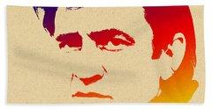 American Legend Johnny Cash Beach Towel