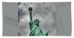 America's Lady Liberty Beach Sheet