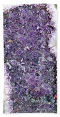 Amethyst Geode Beach Sheet