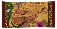 Amore - Musician Version Beach Towel