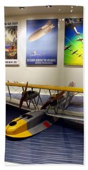 Amphibious Plane And Era Posters Beach Towel