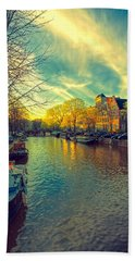Amsterdam Bright Beach Towel