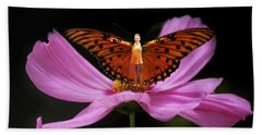 Amy The Butterfly Beach Towel