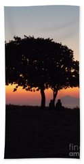 An African Sunset Beach Towel by Vicki Spindler