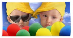 An Image Of A Photograph Of Your Child. - 07a Beach Towel