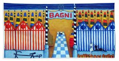 An Italian Summer's End Beach Towel