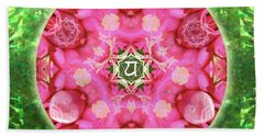 Anahata Rose Beach Towel