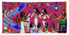 Ancient Egypt Splendor Beach Towel