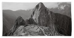 Ancient Machu Picchu Beach Sheet