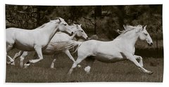 Beach Towel featuring the photograph And The Race Is On D5932 by Wes and Dotty Weber