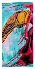 Angel 1 Navigating Ether Beach Towel