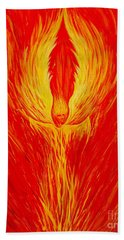 Angel Fire Beach Towel